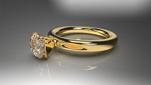 I will design any jewelry as a 3d cad model