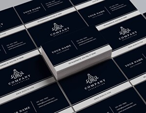 I will design professional real estate business card