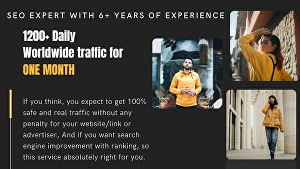 I will drive USA and CANADA web traffic for 30 days