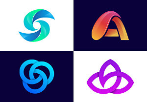 I will design modern logo for your business