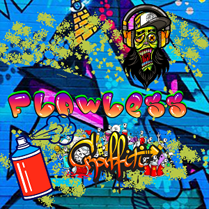 I will create graffiti art design for your logo name or word