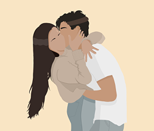 I will draw an amazing minimalist vector portrait from your photo