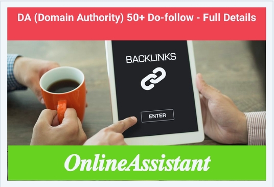 Create High DA 50+ Do-follow Backlinks with Indexing and Full Details Reports