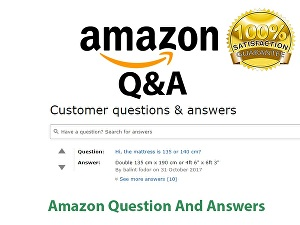 I will Post 5  Amazon Questions or Answers For Product Ranking