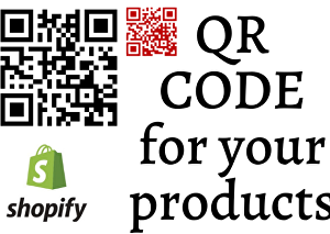 I will design a qr code for your products