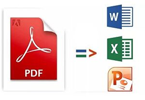 I will Convert PDF to an editable Word, Excel or Powerpoint