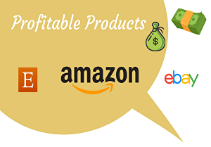 I will  provide 10 profitable dropshipping products for etsy amazon ebay shopify