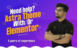 I will do website using Astra theme with Elementor Pro