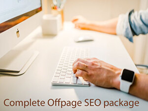 I will do complete off-page SEO backlinks package