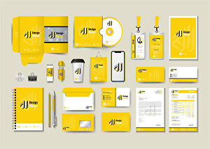 I will design stationery for your brand