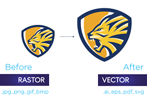 I will vector trace, any sketch, logo or graphics in 24hrs