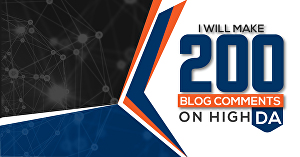 I will Create 200 Do-follow Blog Comments Backlinks