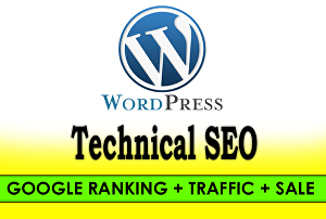 I will do WordPress SEO for 1st page ranking on google