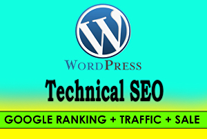 I will do Word Press SEO for 1st page ranking on Google