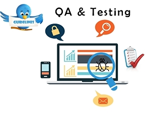I will do testing and review website as QA on all platforms