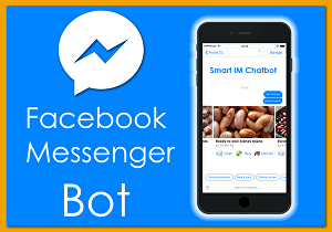 I will create a chatbot for Facebook messenger, website, amazon using manychat, chat full