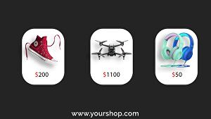 I will create any product sale promo video