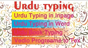 I will do Urdu data entry in Inpage or word