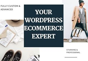 I will create the perfect ecommerce website