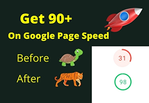 I will increase wordpress speed optimization for google pagespeed insights