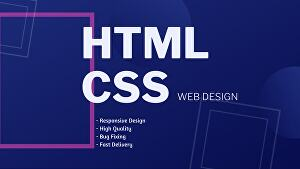 I will do advance html css responsive web design in 48 hours