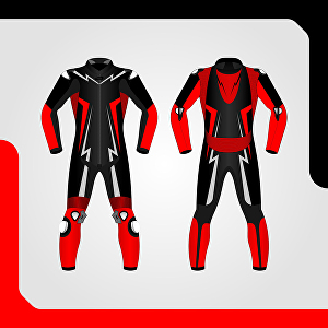 I will design motorcycle suit and jacket