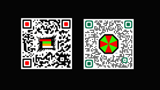 professionally design QR code with your logo