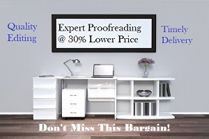 I will proofread  6,000 - 10,000 words of your article, creative writing, blogs, novellas or stor