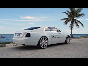 I will put your logo on a real rolls royce car video