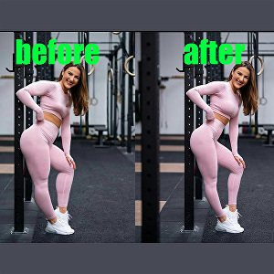 I will make your body skinny and remove fat in photoshop