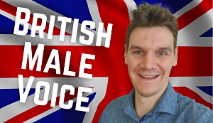 I will record a professional British Male Voice Over 200 words