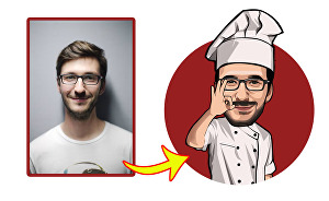 I will draw amazing cartoon caricature from you