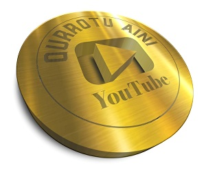 I will make a golden 3D logo for your youtube channel