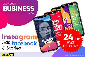 I will create 3 short video ads for Facebook, Instagram, eCommerce