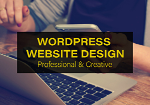 I will develop a professional and responsive WordPress website