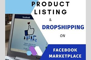 I will list your products on Facebook marketplace