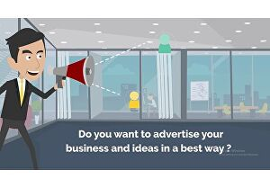 I will create a 2d animated explainer or sales animation video
