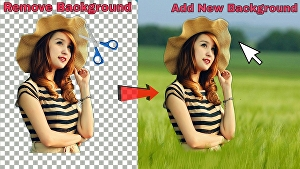 I will erase the background of images in PS