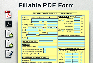 I will Create fillable pdf form