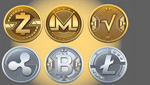 I will design 3d gold and silver coin, logo coin, token, cryptocurrency, bitcoin, and art