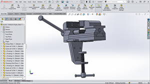 I will  create 3d models and 2d drawings in Solidworks