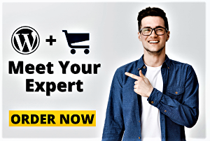 I will be your expert for building or designing wordpress ecommerce website by woocommerce