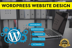 I will do professional website creation and responsive design