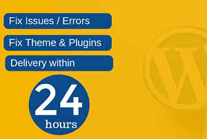I will fix Wordpress issues, bugs , errors or problems and make your web clean