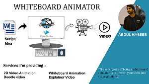 I will create a whiteboard animation, engaging explainer video, 2d animation, doodle video in 2 d