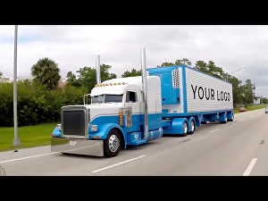 I will make this truck trailer video