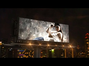 I will create promo video by your brand in this billboard