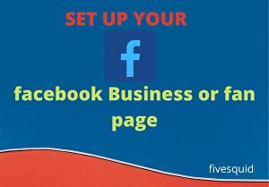 I will create or fix facebook business or fan page