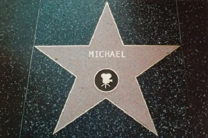 I will write your name on a Hollywood Star