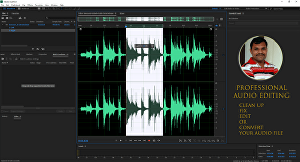 I will remove noise and clean up podcast editing and audio editing
